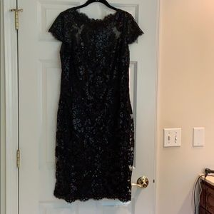 Dresses & Skirts - Sequined black cocktail dress. Worn once.